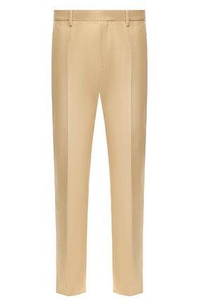 Мужской хлопковые брюки DSQUARED2 бежевого цвета, арт. S74KB0403/S41794 | Фото 1