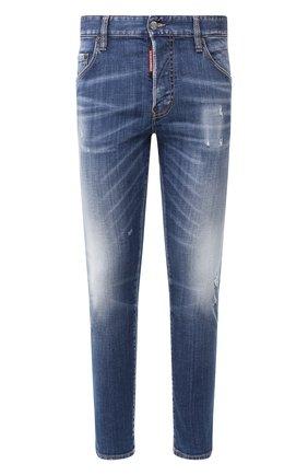 Мужские джинсы DSQUARED2 синего цвета, арт. S74LB0715/S30342 | Фото 1