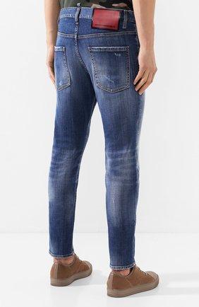 Мужские джинсы DSQUARED2 синего цвета, арт. S74LB0715/S30342 | Фото 4