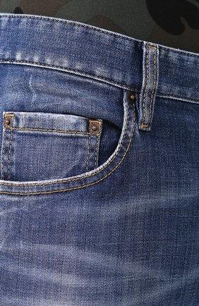 Мужские джинсы DSQUARED2 синего цвета, арт. S74LB0715/S30342 | Фото 5