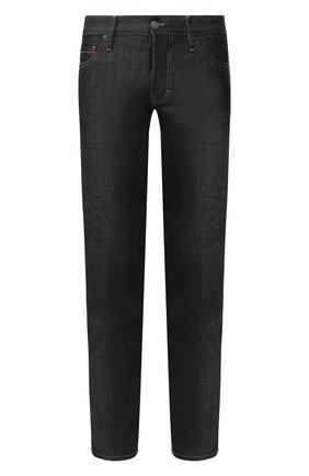 Мужские джинсы DSQUARED2 темно-синего цвета, арт. S74LB0723/S30144 | Фото 1