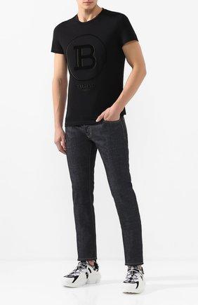 Мужские джинсы DSQUARED2 темно-синего цвета, арт. S74LB0723/S30144 | Фото 2