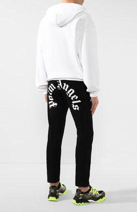 Мужские джинсы PALM ANGELS черного цвета, арт. PMYA012R205620017601 | Фото 2