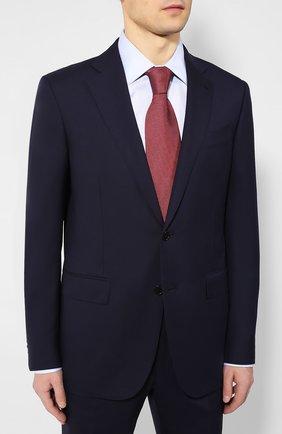 Мужской шерстяной костюм ERMENEGILDO ZEGNA темно-синего цвета, арт. 712599/221225 | Фото 2