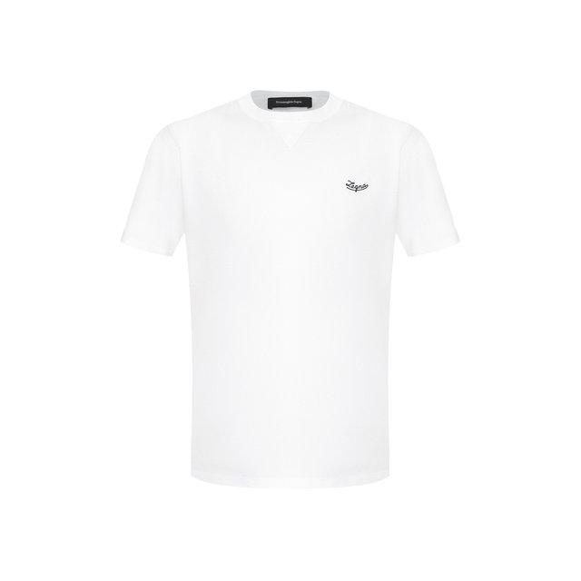 Хлопковая футболка Ermenegildo Zegna
