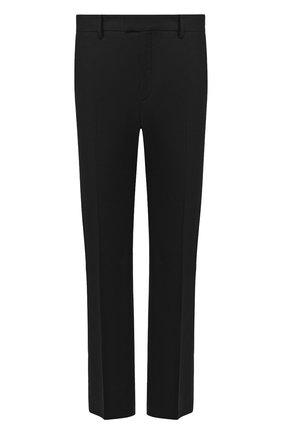 Мужской кашемировые брюки BOTTEGA VENETA темно-серого цвета, арт. 598457/VKH90 | Фото 1
