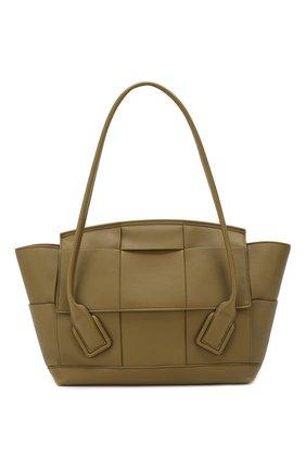 Женская сумка arco 48 BOTTEGA VENETA хаки цвета, арт. 598244/VCP11 | Фото 1