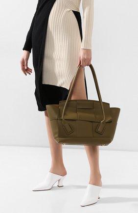Женская сумка arco 48 BOTTEGA VENETA хаки цвета, арт. 598244/VCP11 | Фото 2