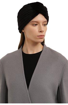 Женская шапка из меха норки KUSSENKOVV темно-коричневого цвета, арт. 140210004272   Фото 2 (Материал: Натуральный мех)