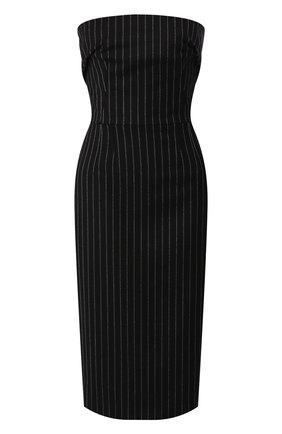 Женское шерстяное платье DOLCE & GABBANA серого цвета, арт. F6H8XT/FR2XI | Фото 1