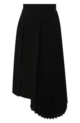 Женская юбка MONCLER черного цвета, арт. F1-093-2D700-10-C0359 | Фото 1