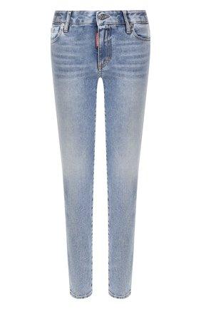 Женские джинсы DSQUARED2 синего цвета, арт. S75LB0328/S30595 | Фото 1