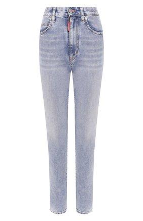 Женские джинсы DSQUARED2 голубого цвета, арт. S75LB0300/S30595 | Фото 1
