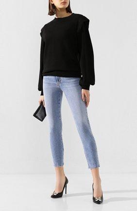 Женские джинсы DSQUARED2 голубого цвета, арт. S75LB0300/S30595 | Фото 2