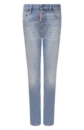 Женские джинсы DSQUARED2 синего цвета, арт. S75LB0288/S30662 | Фото 1