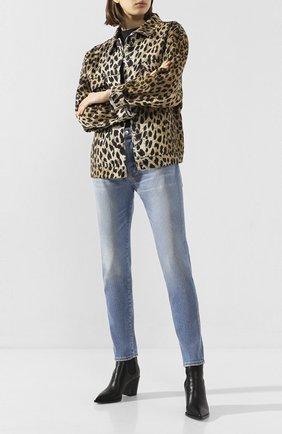 Женские джинсы DSQUARED2 синего цвета, арт. S75LB0288/S30662 | Фото 2