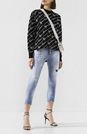 Женские джинсы DSQUARED2 голубого цвета, арт. S75LB0283/S30662 | Фото 2