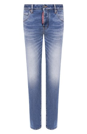 Женские джинсы DSQUARED2 синего цвета, арт. S75LB0278/S30662 | Фото 1