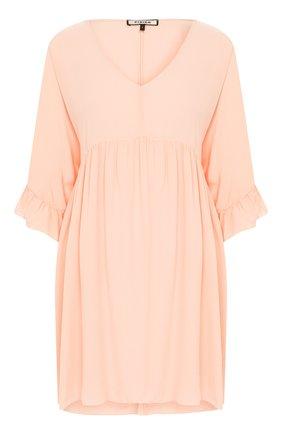 Женское шелковое платье FISICO розового цвета, арт. P0/F/FV29H0 | Фото 1
