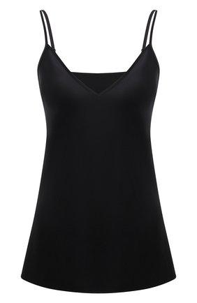 Женская шелковый топ JOSEPH черного цвета, арт. JF004009 | Фото 1