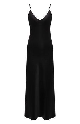 Женское шелковое платье JOSEPH черного цвета, арт. JF004011   Фото 1
