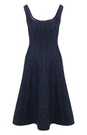 Женское джинсовое платье RALPH LAUREN синего цвета, арт. 290795937 | Фото 1