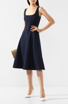 Женское джинсовое платье RALPH LAUREN синего цвета, арт. 290795937 | Фото 2