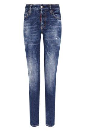 Женские джинсы DSQUARED2 синего цвета, арт. S80LA0006/S30663 | Фото 1
