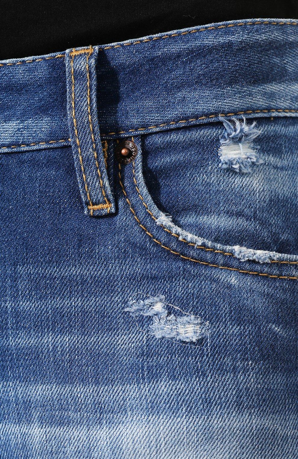 Женские джинсы DSQUARED2 синего цвета, арт. S75LB0280/S30663 | Фото 5