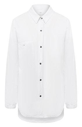 Женская рубашка HEROINE SPORT белого цвета, арт. HS-3-021/H0LIDAY 2019 | Фото 1