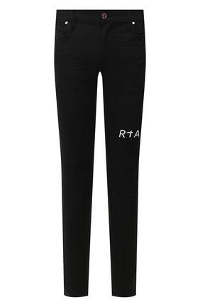 Мужские джинсы RTA черного цвета, арт. MH9AC-0134RWBK | Фото 1