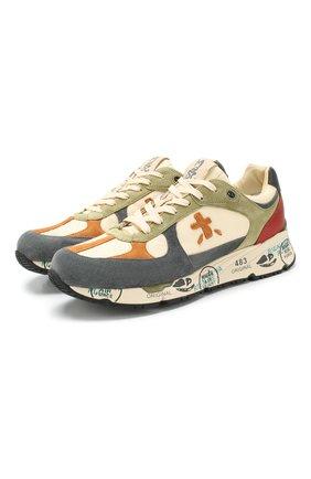 Мужские комбинированные кроссовки mase PREMIATA разноцветного цвета, арт. MASE/VAR4553 | Фото 1