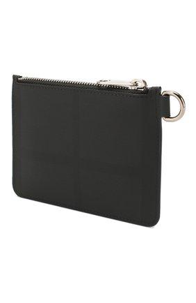 Мужской кошелек для монет BURBERRY темно-серого цвета, арт. 8025125 | Фото 2