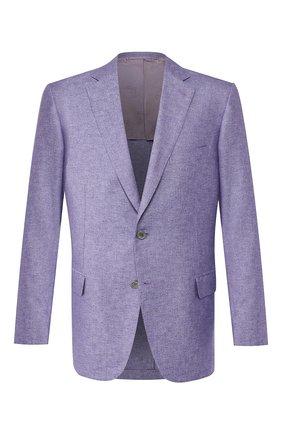 Мужской пиджак из смеси шелка и кашемира BRIONI сиреневого цвета, арт. RG0J0N/P943C/BRUNIC0 | Фото 1