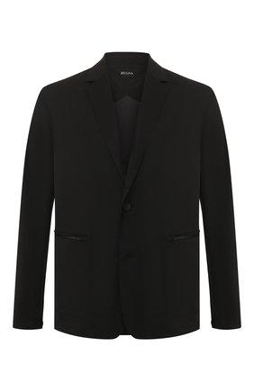 Мужская куртка Z ZEGNA черного цвета, арт. VU025/ZZ022 | Фото 1