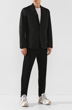 Мужская куртка Z ZEGNA черного цвета, арт. VU025/ZZ022 | Фото 2