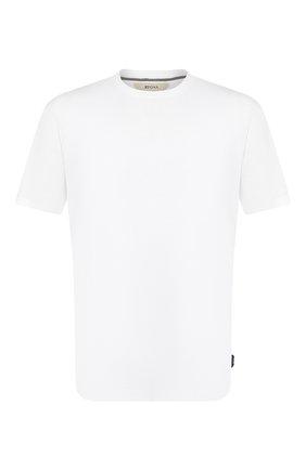 Мужская хлопковая футболка Z ZEGNA белого цвета, арт. VU372/ZZ650 | Фото 1