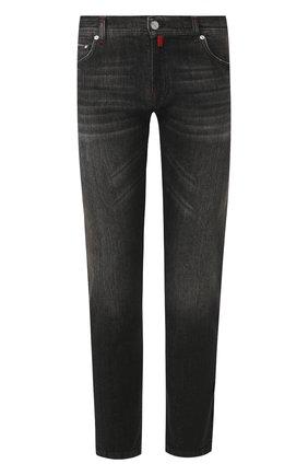 Мужские джинсы KITON темно-серого цвета, арт. UPNJS/J07S11 | Фото 1