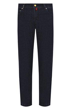 Мужские джинсы KITON темно-синего цвета, арт. UPNJS/J07S10 | Фото 1