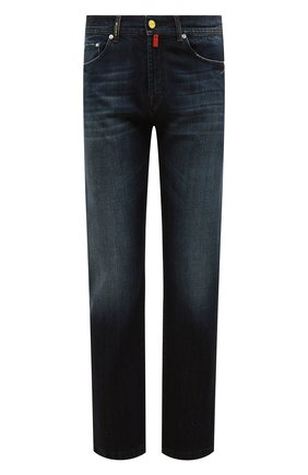 Мужские джинсы KITON синего цвета, арт. UPNJS1/J07S10 | Фото 1