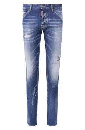Мужские джинсы DSQUARED2 синего цвета, арт. S74LB0670/S30342 | Фото 1