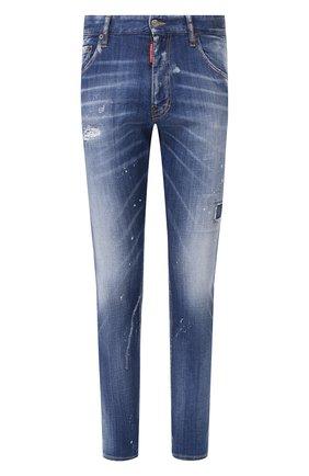 Мужские джинсы DSQUARED2 синего цвета, арт. S74LB0671/S30342   Фото 1