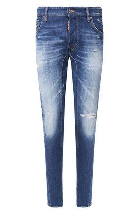 Мужские джинсы DSQUARED2 синего цвета, арт. S74LB0675/S30663 | Фото 1