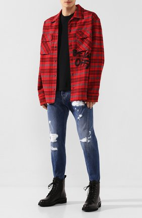 Мужские джинсы DSQUARED2 синего цвета, арт. S74LB0719/S30309 | Фото 2