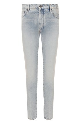 Мужские джинсы PALM ANGELS голубого цвета, арт. PMYA012R203430017310 | Фото 1