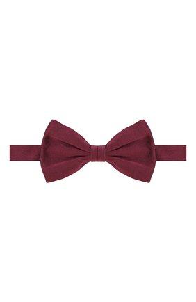 Мужской шелковый галстук-бабочка BRIONI бордового цвета, арт. 01L200/PZ418 | Фото 1