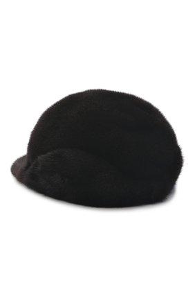 Мужской бейсболка из меха норки FURLAND коричневого цвета, арт. 0118202110034300115 | Фото 2