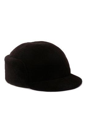 Мужская норковая кепка KUSSENKOVV коричневого цвета, арт. 410210004120 | Фото 1