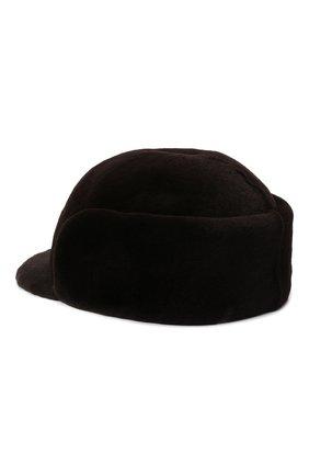 Мужская норковая кепка KUSSENKOVV коричневого цвета, арт. 410210004120 | Фото 2