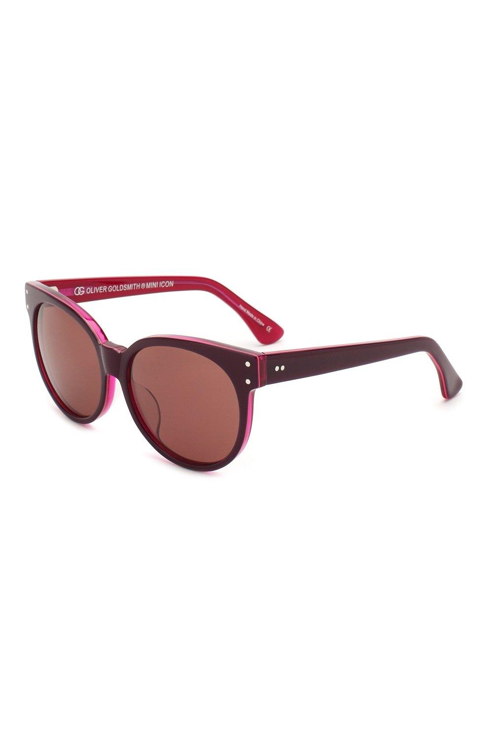 Детские солнцезащитные очки OLIVER GOLDSMITH красного цвета, арт. BALK0 | Фото 1